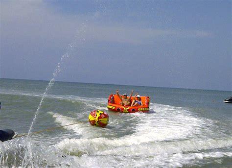 Banana River Pontoon Boat Ride by Xtreme Panam 225 Scramble Ride