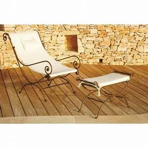Fauteuil Fer Forgé : fauteuil en fer forge jade couleurs du monde tous les produits salon jardin prixing ~ Teatrodelosmanantiales.com Idées de Décoration