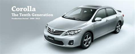 toyota global site corolla the tenth generation