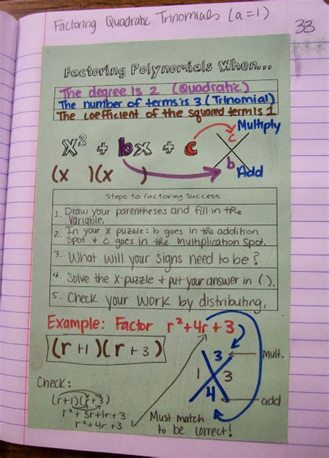 math love algebra  inb pages exponential functions