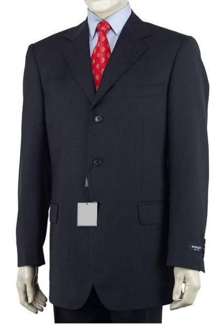 As far as style goes, try oxfords , loafers, or monk straps. Men's Dark Navy Blue Single Breasted 3 Button Style Dress Suit