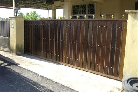 kombinasi kombinasi penting antara desain rumah  pagar