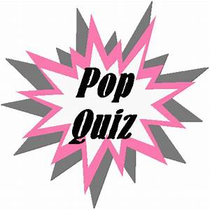 Marks in the Margin: Pop Quiz