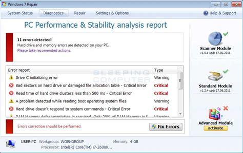 Remove Windows 7 Repair (uninstall Guide