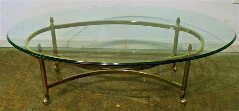 Couchtisch Glas Klein by 30 Collection Of Oval Glass And Wood Coffee Tables