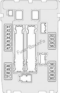 Fuse Box Diagram Infiniti Qx50  2013