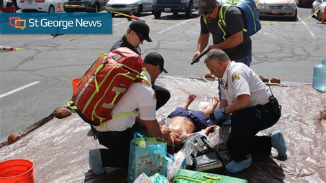 Dixie Regional Staff, Ems Personnel Train Together In