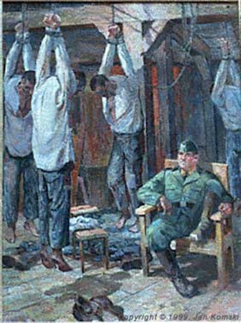 administrative punishment  painting  jan komski