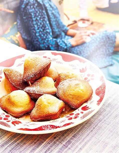cuisine d馗o madeleines à la fleur d oranger pour 4 personnes recettes à table