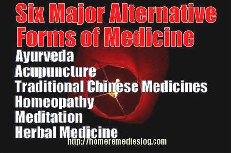 benefits of alternative forms of medicine