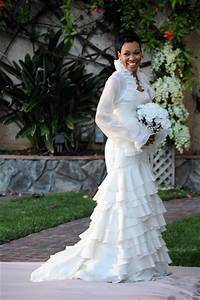 celebrity wedding monica and shannon brown wedding bells With monica wedding dress