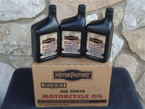 Case Sae 20w50 Motorcycle Oil For Harley Evo Twin Cam Xl
