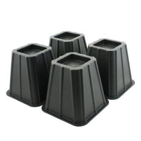 4 bed risers heavy duty furniture lift 1200 lb underbed