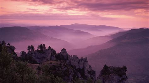 Landscape Wallpaper 1920 X 1080 Pixels Dawn Over The Ceven Flickr