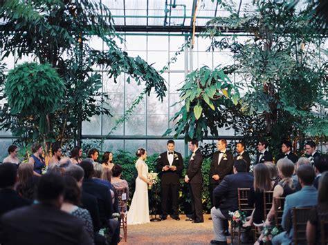 horticulture center at fairmount park wedding in philadelphia