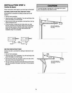 Chamberlain Garage Door Opener Hd900d Instructions