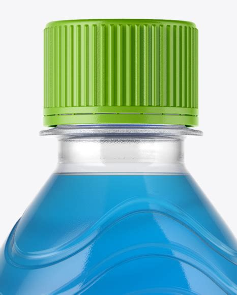 Free ceramic opaque cork bottle mockup psd set. PET Bottle with Blue Cola Mockup in Bottle Mockups on ...