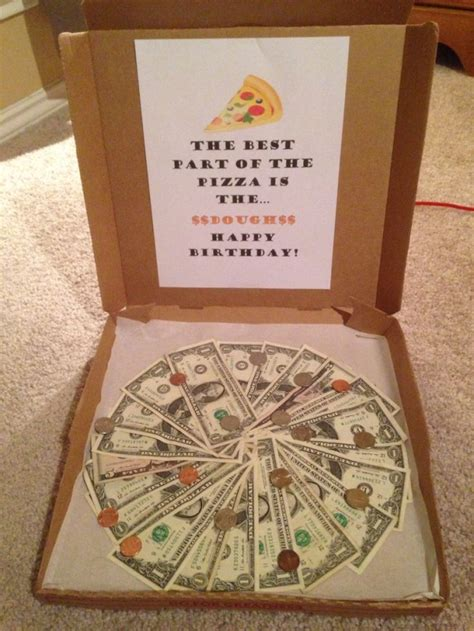 fun way to give money as a present
