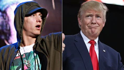 In 2004, Donald Trump 'endorsed' Eminem For President