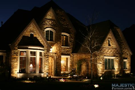 House Of Lights by Home Exterior Lighting Gallery