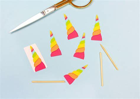 diy unicorn cupcake toppers handmade charlotte