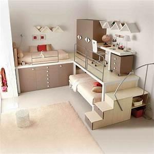 Petite Chambre Ado : petite chambre ado fille pi ti li ~ Mglfilm.com Idées de Décoration