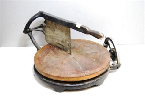 vintage computing cheese cutter  cheese wheel slicer cast iron cheese cutter cheese wheel