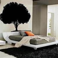 interesting bedroom wall decals Headboard Ideas: 45 Cool Designs For Your Bedroom