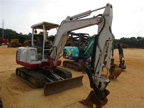 takeuchi tb mini excavator vinsn  stick quick coupler hyd thumb blade