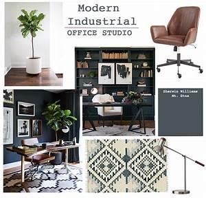 Studio Office Design  Modern Industrial