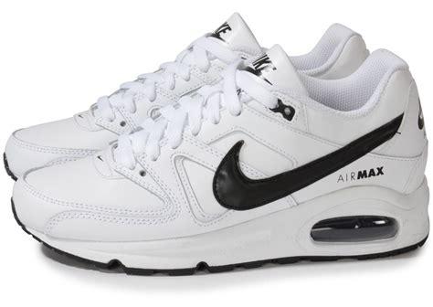 air max blanc nike air max command gs blanc et noir chaussures chaussures chausport