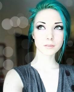 Blue Hair | beautiful, blue, cute, hair, igottapeenow ...