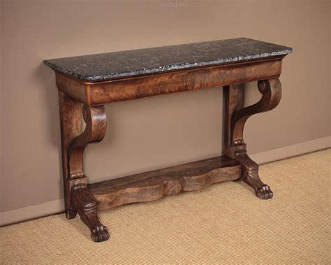 vintage console table 19th c marble top console table c 1830 antiques atlas 3176