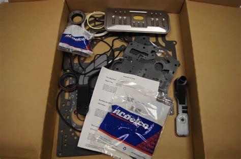 gm transmission overhaul rebuild gasket kit