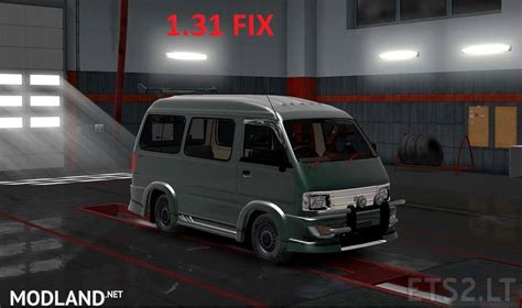 Suzuki Carry 1 5 Real Modification by 1 31 Fix For Suzuki Carry 1 0 By Yuli Indrayana Mod For Ets 2