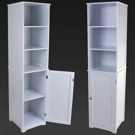 Cupboard Unit by Boy Storage Cabinet White Wooden Bathroom Cabinet