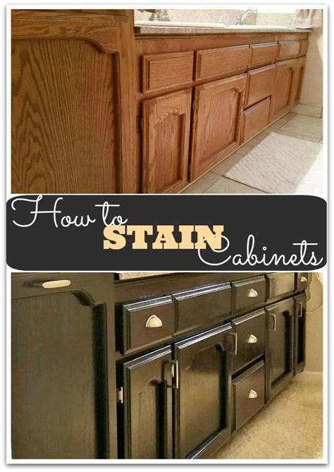 paint or stain oak kitchen cabinets 17 best ideas about staining oak cabinets on 9048
