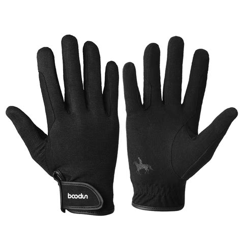 gloves riding horse winter