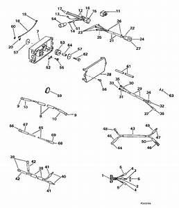 Johnson Power Trim  Tilt Electrical Parts For 1997 90hp