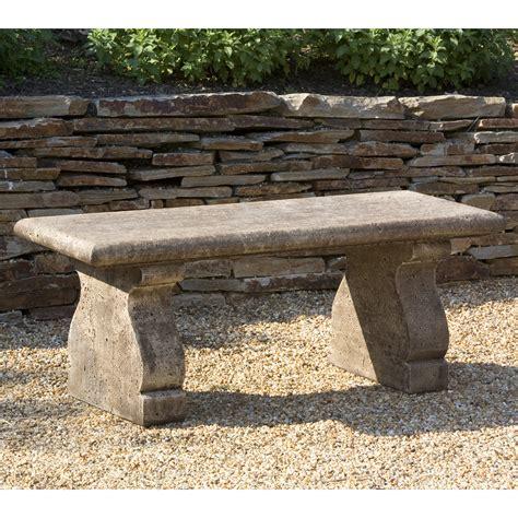 Campania International Provencal Cast Stone Backless
