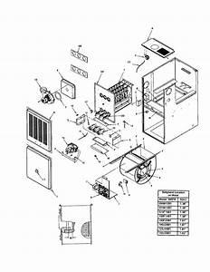 Icp C8mpn075b12b1 Furnace Parts