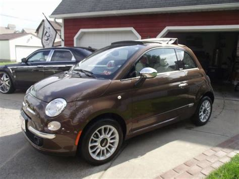 2012 Fiat 500c Lounge by Sell Used 2012 Fiat 500c Lounge Cabriolet Convertible In