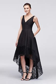 dresses for guest at wedding betsy adam dresses lace illusion styles david 39 s bridal