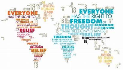 Freedom Rights Human Apostasy Religion Religious Belief