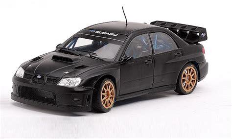 1/18 Subaru Impreza Wrc07 Rally Car (plain Black) (ss-4398