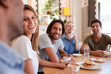 1,278 likes · 45 talking about this. Group Of Friends Meeting For Lunch In Coffee Shop Stock Photo - Download Image Now - iStock