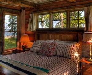 Nice, 49, Amazing, Rustic, Lake, House, Bedroom, Decoration, Ideas