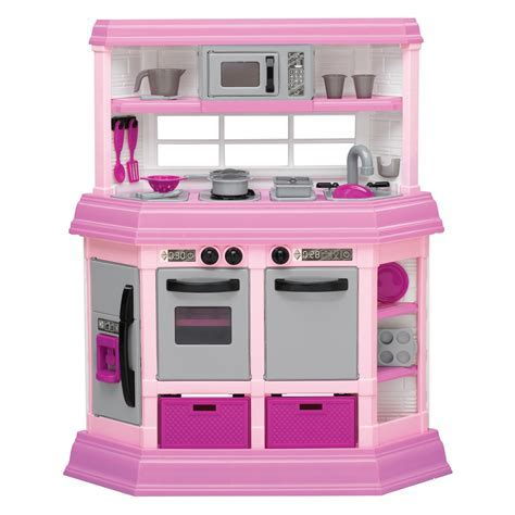 American Plastic Toys Custom Kitchen ? Pink   Play