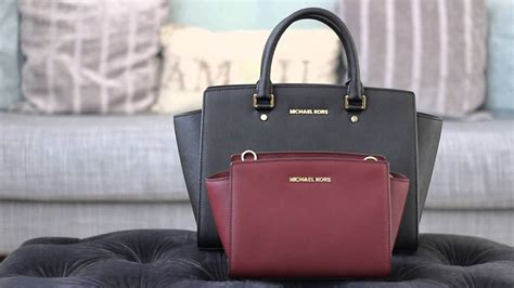 michael kors medium selma messenger large selma satchel