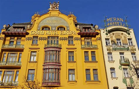 Prague Art Nouveau Architecture